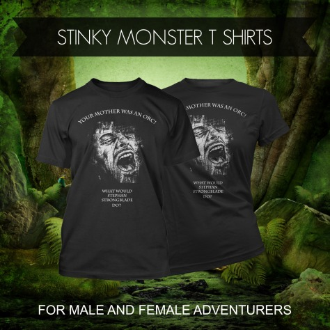 stinky monster t shirts